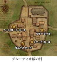 グルーディオ城の村アジト